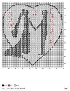 WEDDING HEART SILHOUETTE