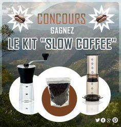 """Grand Jeu Concours Kawateachoc : Gagnez notre kit """"SLOW COFFEE"""" !"""