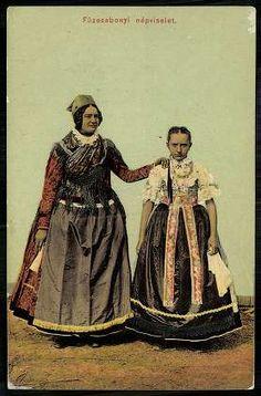 Folk Costume, Costumes, Folklore, Hungary, Budapest, 1, Culture, Retro, Painting