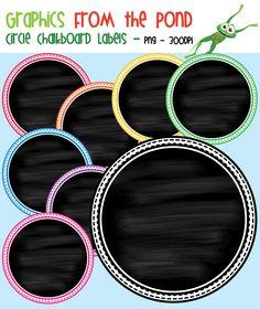 Free Chalkboard Frames
