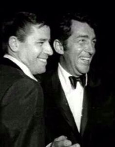 Jerry and Dean in 1961. They split as a team in 1956.