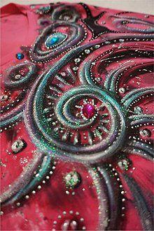 Tričká - abstrakcia bodkovaná - 6499086_