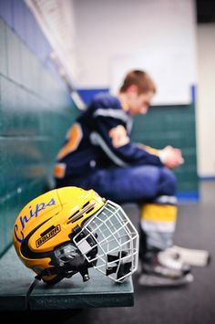 High School Senior Photography Hockey Senior Photos Photo by Monson Photography - Ludington, MI