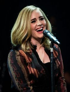 Adele performing at 'Skavlan Tv Show'