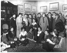 On March 6, 1933 Eleanor Roosevelt held her first press conference, allowing only female reporters to attend.