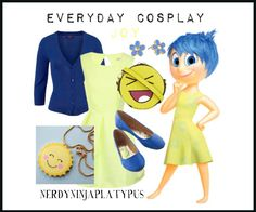 Everyday Cosplay: Joy (Inside Out)