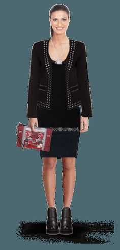 L'outfit di Elena Damone