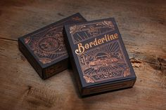 Borderline Playing Cards by Traina Design via http://www.mr-cup.com/blog/objects/item/borderline-playing-cards.html