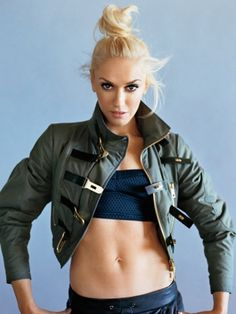 gwen stefani has done sporty style for a very long time. love her.