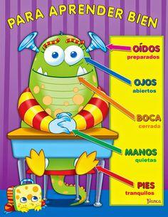 Actividades para Educación Infantil: Carteles para aprender bien