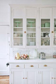 winter white cabinetry / sfgirlbybay