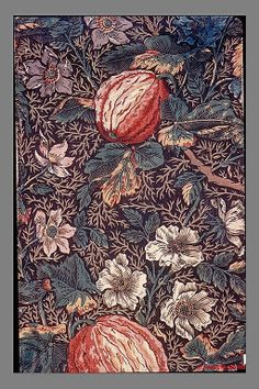 Floral print, ca.1795. British. The Metropolitan Museum of Art, New York. Gift of William Sloane Coffin, 1926 (26.265.103) #spring