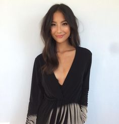 Adeline Rudo #Eurasian #model #makeup