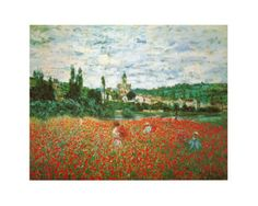 Monet - Field of Poppies at Giverny