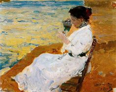 untitled (7927) by Joaquin Sorolla Y Bastida (1863-1923, Spain)