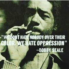 "Robert George ""Bobby"" Seale is an American political activist. He and fellow activist Huey P. Newton co-founded the Black Panther Party."