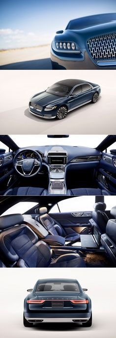 Beautiful images of the #Lincoln #Continental #Concept (check out the chrome!)