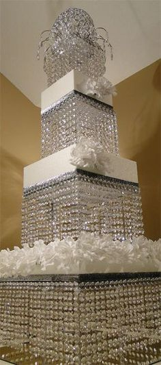Wedding Decorations - Crystal Cake Stand