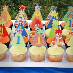 Cupcakes #forklys1st - @forkly Happy Birthday to my fave food app! #forklys1st