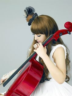 Play the cello again, then get a red cello. #kanon