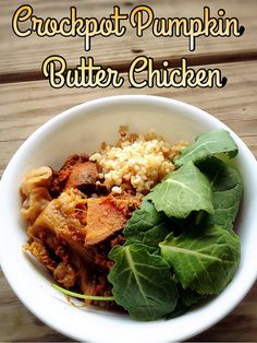 Foodie Friday: Crockpot Pumpkin Butter Chicken | @fairyburger @ fairyburger