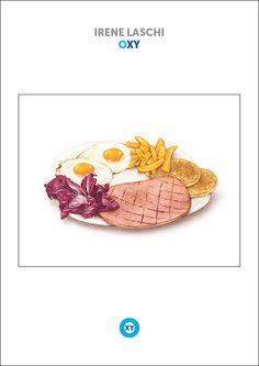 IRENE LASCHI / Food Illustration / @ : oxy-illustrations@orange.fr