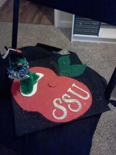 Graduation cap I decorated for my friend.