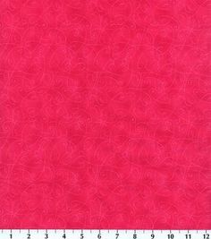 Keepsake Calico Fabric Essentials Swirl Bright Pink