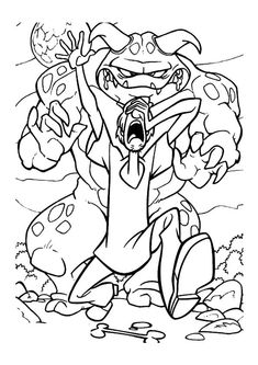 Scooby Doo coloring pages 36 Scooby Doo Coloring Pages, Lego Coloring, Dinosaur Coloring Pages, Bible Coloring Pages, Cool Coloring Pages, Disney Coloring Pages, Adult Coloring, Coloring Books, Scooby Doo Games