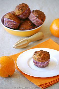 Albahaca y Canela - Muffins de naranja y chocolate
