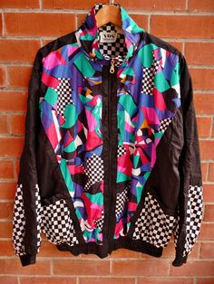 Vintage VOS Sports Baroque Royalty swag Abstract design Hip Hop Bomber Jacket on Etsy, $29.99