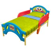 Found it at Wayfair - Sesame Street Plastic Toddler Bed