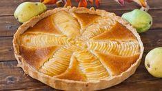 Пирог «Груши в миндальном креме» » Кулинарные рецепты