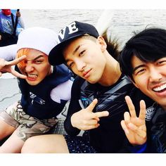 Kwanghee with GD AND TAEYANG