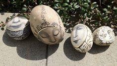 garden rocks by Olga Sugden