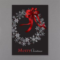 Snowflake Celebration Holiday Card  Item Number YM25559FC
