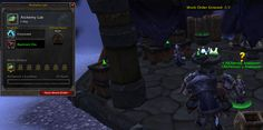 Warlords of Draenor Alpha: Work orders in the garrison from the Alchemy Lab. Credit: WoWInsider