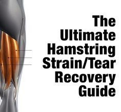 The Ultimate Hamstring Strain / Tear Recovery Guide - Kabuki Strength Kt Tape Hamstring, Hamstring Strengthening, Hamstring Pull, Hamstring Muscles, Hamstring Workout, Calf Muscles, Hamstring Stretches, Speed Workout, Hamstring Injury Treatment