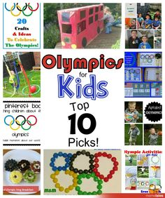 10 Olympic Themed Activities from around the web.