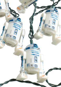 R2D2 lights.