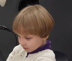 Little Girl Haircuts Fine Hair Little Girls Pixie Haircuts, Kids Short Haircuts, Black Girl Braided Hairstyles, Bob Hairstyles With Bangs, Baby Girl Hairstyles, Cute Hairstyles For Short Hair, Girl Short Hair, Short Hair Cuts, Fine Hair Bangs