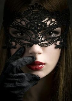 Another one for you, Honey. Perhaps, someday, you'll feel as comfortable without one, and grace us with your beautiful face. Dark Photography, Black And White Photography, Portrait Photography, Foto Poster, Female Mask, Mask Girl, Lace Mask, Masquerade Party, Beautiful Mask