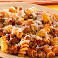 Easy Skillet Pasta & Beef Dinner | Best Italian Recipes for Dinner #quick #recipe