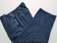 """Scandia Woods - Women's Jeans -  Size 10 (27"""" Inseam) Blue Straight Leg & Stretch Waist #ScandiaWoods #StraightLeg ..... Visit all of our online locations.....  www.stores.eBay.com/variety-on-a-budget .....  www.stores.ebay.com/ourfamilygeneralstore .....  www.etsy.com/shop/VarietyonaBudget .....  www.bonanza.com/booths/VarietyonaBudget .....  www.facebook.com/VarietyonaBudgetOnlineShopping"""