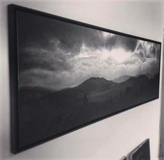 Autumn Sky | Oil on Canvas 180x60cm Artprint available on www.christianklute.com  #clouds #cloudpainting #landscape #painting autumn #melancholy #sky #nature #skyline #cloudyskies #artwork #monochrome #creativeuprising #artist #art #realism #bnw_society #bw_lover #monoart #noir #artcollector #artcollection #blackandwhite #instaart #arte #arts #bnw #darkartists #oilpainting #landscapepainting