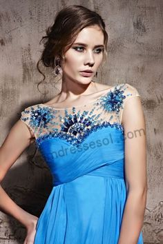 Royal Blue Sweetheart Tencel.