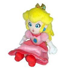 "Little Buddy Toys Official Super Mario Plush 8"" Princess Peach Little Buddy Toys http://www.amazon.com/dp/B006JV77J6/ref=cm_sw_r_pi_dp_xK2Bub1XYB1FG"