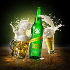 Taiwan Beer 18 days draft beer CGI on Behance
