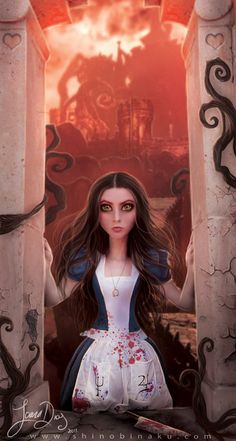 American Mcgee's Alice Alice with an awesome twist, also a great game.