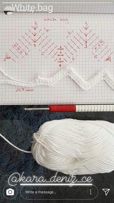 Crochet ideas that you'll love Free Crochet Bag, Crochet Tote, Crochet Handbags, Crochet Purses, Knit Crochet, Crochet Patterns Amigurumi, Crochet Stitches, Mochila Crochet, Crochet Videos